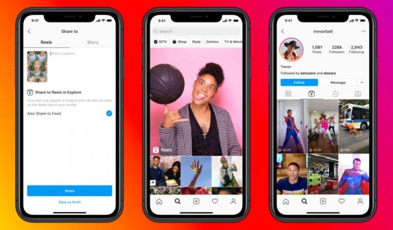 Facebook начал тестировать рекламу в Instagram Reels
